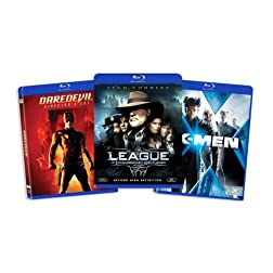Blu-ray Comic Book Hero Bundle (Daredevil (Directors Cut) / League of Extraordinary Gentlemen / X-Men) (Amazon.com Exclusive) [Blu-ray]