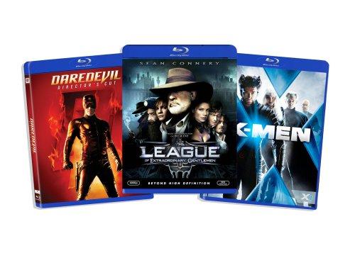 Blu-ray Comic Book Hero Bundle (Daredevil (Directors Cut) / League of Extraordinary Gentlemen / X-Men) (Amazon.com Exclusive) [Blu-ray]