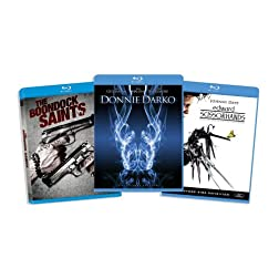 Blu-ray Cult Classic Bundle (Edward Scissorhands / Donnie Darko / The Boondock Saints) (Amazon.com Exclusive) [Blu-ray]