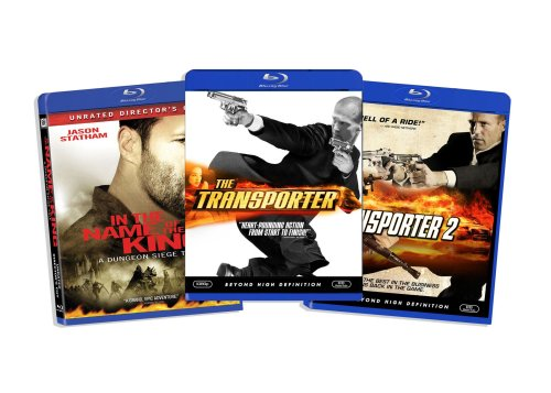 Blu-ray Jason Statham Bundle (In the Name of the King / The Transporter 2 / The Transporter) (Amazon.com Exclusive) [Blu-ray]
