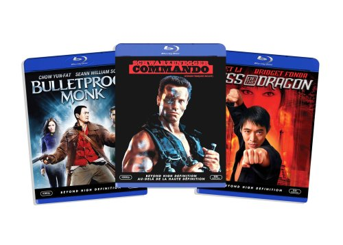 Blu-ray Action Bundle, Vol. 2 (Kiss of the Dragon / Bulletproof Monk  / Commando ) (Amazon.com Exclusive) [Blu-ray]