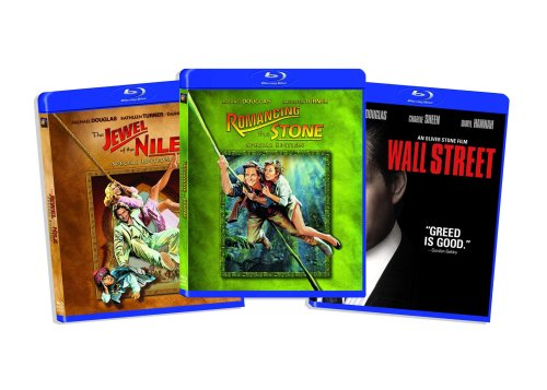 Blu-ray Michael Douglas Bundle (Wall Street / Romancing the Stone / Jewel of the Nile) (Amazon.com Exclusive) [Blu-ray]