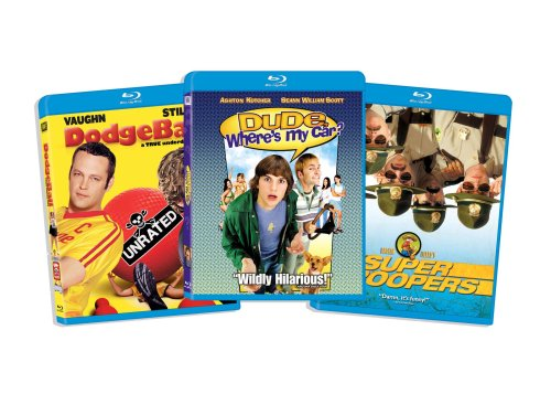 Blu-ray Comedy Bundle, Vol. 3 (Dude Wheres My Car? / Dodgeball / Super Troopers) (Amazon.com Exclusive) [Blu-ray]