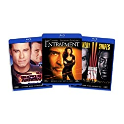 Blu-ray Action Bundle, Vol. 3 (Rising Sun / Entrapment / Broken Arrow) (Amazon.com Exclusive) [Blu-ray]