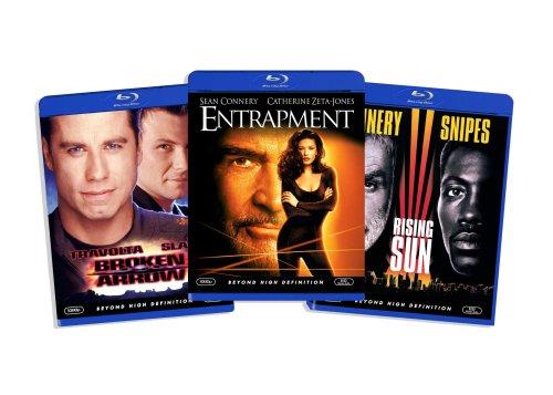 Blu-ray Action Bundle, Vol. 3 (Rising Sun / Entrapment / Broken Arrow) (Amazon.com Exclusive) [Blu-ray]
