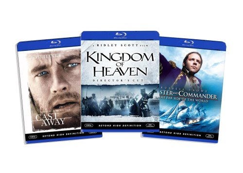 Blu-ray Epic Movie Bundle (Kingdom of Heaven (Directors Cut) / Cast Away / Master and Commander) (Amazon.com Exclusive) [Blu-ray]
