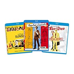 Blu-ray Comedy Bundle, Vol. 4 (Little Miss Sunshine / Napoleon Dynamite / Office Space ) (Amazon.com Exclusive) [Blu-ray]
