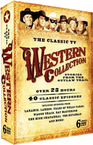 The Classic TV Western Collection - EMBOSSED COLLECTOR'S TIN!