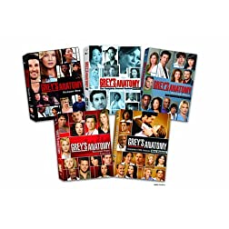 Grey's Anatomy: The Complete Seasons 1-5