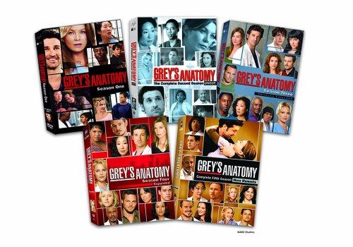 Grey's Anatomy: The Complete Seasons 1-5