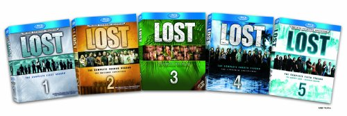 Lost: The Complete Seasons 1-5 [Blu-ray]