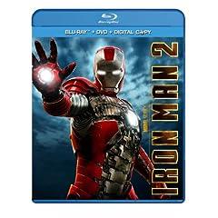 Iron Man 2 (Three-Disc Blu-ray/DVD Combo + Digital Copy)