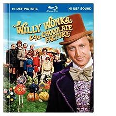 Willy Wonka & the Chocolate Factory (Blu-ray Book) [Blu-ray]