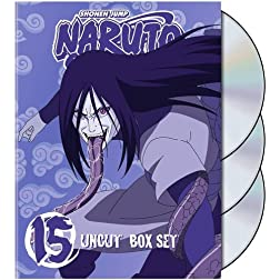 Naruto Uncut Box Set, Vol. 15