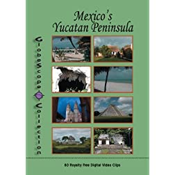 The Globescope Collection  Mexico: Yucatan Peninsula Royalty Free Stock Footage