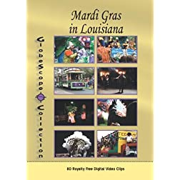 The Globescope Collection  Mardi Gras in Louisiana Royalty Free Stock Footage