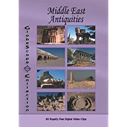 The Globescope Collection The Middle East Antiquities Royalty Free Stock Footage
