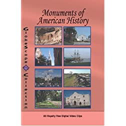 The Globescope Collection Monuments to American History Royalty Free Stock Footage