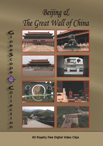The Globescope Collection  China: Beijing & The Great Wall Royalty Free Stock Footage