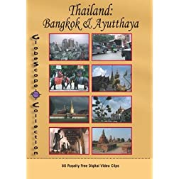 The Globescope Collection  Thailand: Bangkok & Ayutthaya Royalty Free Stock Footage