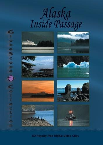 The Globescope Collection  Alaska: Inside Passage Royalty Free Stock Footage