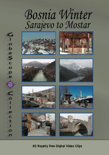 The Globescope Collection  Bosnian Winter Sarajevo to Mostar - Royalty Free Stock Footage