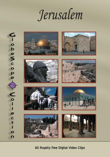 The Globescope Collection  Jerusalem Royalty Free Stock Footage