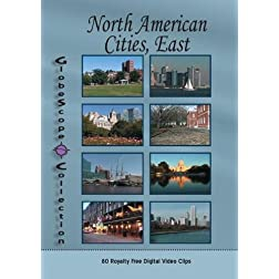 The Globescope Collection  North American Cities, East Royalty Free Stock Footage