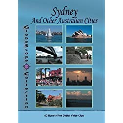 The Globescope Collection  Sydney And Other Australian Cities- Royalty Free Stock Footage