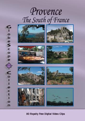 The Globescope Collection  Provence The South Of France - Royalty Free Stock Footage