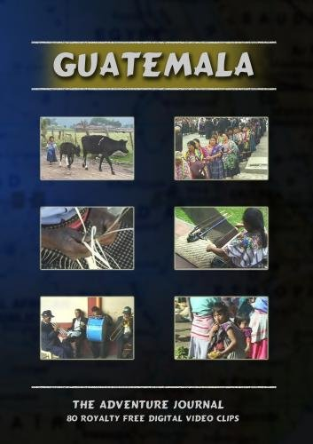 Guatemala Royalty Free Stock Footage