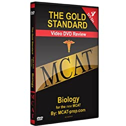 The Gold Standard Video MCAT Science Review on 4 DVDs: Biology (2010-2011)