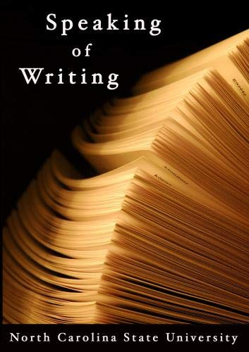 Speaking of Writing: A Digital Resource for Writing in the Disciplines