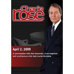 Charlie Rose (April 2, 2009)