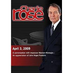 Charlie Rose (April 3, 2009)