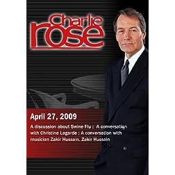 Charlie Rose (April 27, 2009)