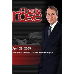 Charlie Rose (April 29, 2009)