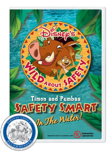 Disney's Wild About Safety with Timon and Pumbaa: Safety Smart in the Water Classroom Edition [Interactive DVD]