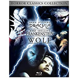 Wolf / Dracula / Frankenstein Trilogy [Blu-ray]