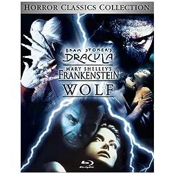 Wolf / Dracula / Frankenstein Trilogy [Blu-ray]