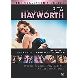 The Films of Rita Hayworth (Cover Girl / Tonight and Every Night / Gilda / Salome / Miss Sadie Thompson)