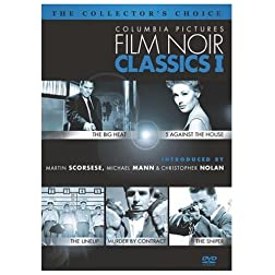 Columbia Pictures Film Noir Classics, Vol. 1 (The Big Heat / 5 Against the House / The Lineup / Murder by Contract / The Sniper)