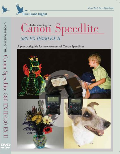 Understaning the Canon Speedlite 580EX II / 430EX II Training DVD