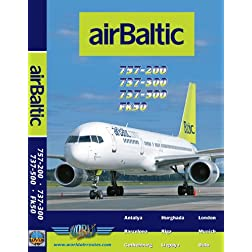 Air Baltic Boeing 737-300, 737-500, 757-200 & Fokker 50