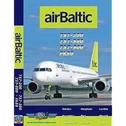 Air Baltic Boeing 737-300, 737-500, 757-200 & Fokker 50