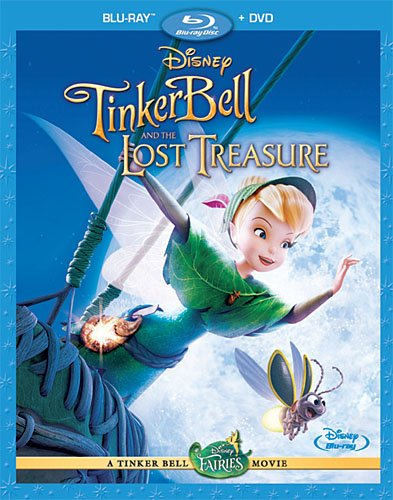 Tinker Bell and the Lost Treasure (Two Disc + BD Live) [Blu-ray]