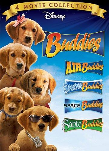 Buddies DVD 4-Pack (Air Buddies, Snow Buddies, Space Buddies, Santa Buddies)