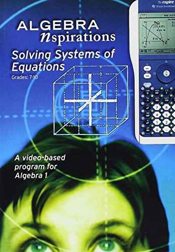 Algebra Nspirations: Solving Systems of Equations