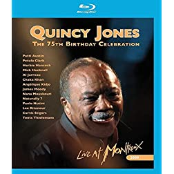 Quincy Jones' 75th Birthday Celebration-Live at Mo [Blu-ray]