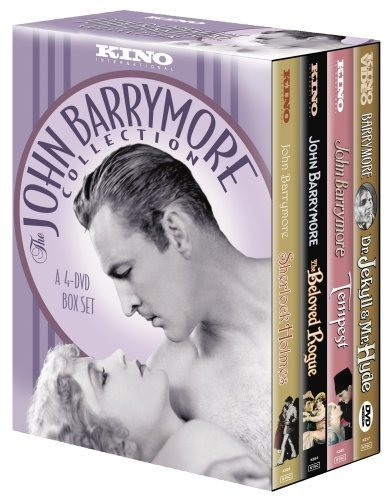 John Barrymore Collection (Sherlock Holmes / Dr. Jekyll and Mr. Hyde / The Beloved Rogue / Tempest) (4pc) (Silent) (Full)